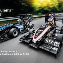 Závodní formule studentů ČVUT v Praze se představí v Dejvicích